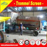 Qualität Hochleistungs300 t-/halluviale Goldförderung-Maschine, mobiles Goldförderung-Gerät