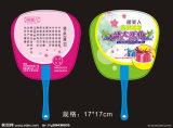 Cute Plastic Promotion Fan para Publicidade