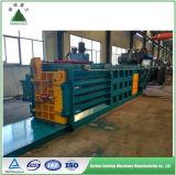 Prensa horizontal automática hidráulica del papel usado