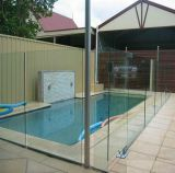 6.38mm 8.38mm 12.38mm riesige Größen-lamelliertes Glas für Balkon-Glas