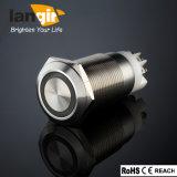 Кольцо из нержавеющей стали с подсветкой по борьбе с блокировкой в антивандальном исполнении с нажатием кнопки электрический переключатель (L19-F-N-Z1-S-R)