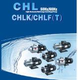 Bomba centrífuga de vários estágios horizontal leve de Cnp para a purificação de água do RO