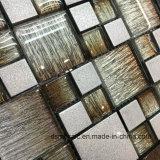 De bruine Gelamineerde Tegel van het Mozaïek van het Glas