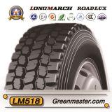 De Banden 11r22.5 11r24.5 295/75r22.5 285/75r24.5 van de Vrachtwagen van Roadlux van Longmarch