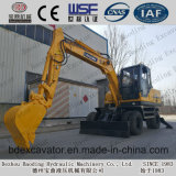 8.5 tonnellate di Baoding di piccolo escavatore della rotella della macchina per movimento della terra da vendere