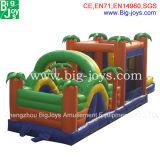 Venta caliente combinada de la diapositiva inflable enorme de la gorila