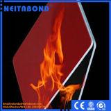 Painel composto de alumínio da classe da resistência de incêndio B1/A2 com ASTM E84