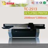 Imprimante UV de bâti plat pour les feuilles/ballons en plastique/étiquette en aluminium/matériau rigide