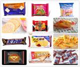 Catena d'imballaggio d'alimentazione automatica della torta di strato e di strato dei biscotti in pieno