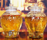 Distribuidor grande do vidro de vinho da capacidade do Sell quente/distribuidor de vidro do suco
