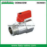 Polir Chromed Italycopper Made Brass Mini Ball Valve (AV1046)