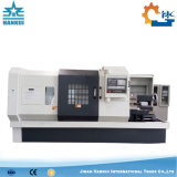 Máquina horizontal do torno do CNC da base Ck6140 lisa