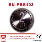 Besonders dünne runde Höhenruder-Drucktaste (CER, ISO9001)