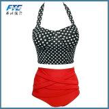 "Biquini ""sexy"" quente do Beachwear do Swimwear da menina do estilo novo da cópia do leopardo"