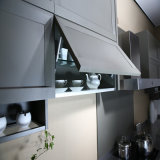 Welbom 100% Gabinete de cozinha de porta de madeira sólida de carvalho