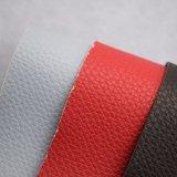Couro sintético gravado da esponja do PVC para tela poli revestida do saco