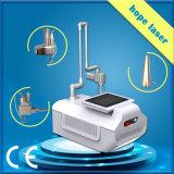 Remoção de cicatriz laser a laser fracionada portátil, laser fracionável de CO2