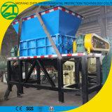 Gomma di plastica solida/acciaio/pneumatico residuo/asta cilindrica biassiale/macchina di legno industriale della trinciatrice