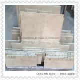 Mattonelle di pavimento di marmo per il progetto