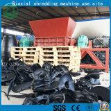 Desfibradora de dos ejes para la chatarra/el plástico del neumático/el neumático/la basura de madera de la espuma/de la cocina/la basura de madera/sólida
