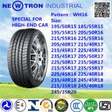 Wh16 215/45r17 중국 승용차 타이어, PCR 타이어