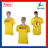 Healong China Großhandelskleid-T-Shirt der preiswerten Preis-Bildschirm-Drucken-Männer