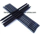 Crayon promotionnel en bois noir Hb, Sky-017