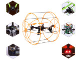 2.4GHz 4CH Wall Climbing Sky Walker RC Quadcopter Kit Remote Control Helicopter 10177066