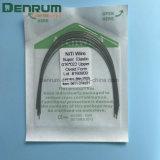 Collegare elastico eccellente materiale ortodontico dentale dell'arco di Denrum Niti