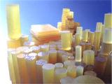 Luz - poliuretano amarelo Ros da cor, plutônio Rod, barra do poliuretano, barra do plutônio com 80-90shore a