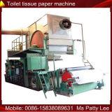 Pequeña máquina de la fabricación de papel de Jumboo del tejido facial de 5 toneladas/día (1880m m)