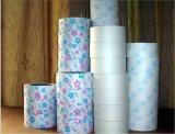 Sortie papier Divers coloris pour serviette sanitaire