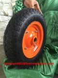 350-7 rotella dell'aria con l'orlo del metallo per la carriola