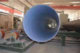 Weifang 3PE cubierto vio el tubo de acero