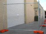 Горячая окунутая гальванизированная съемная портативная временно загородка