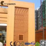 WPC는 (반대로 UV) 나무로 되는 플라스틱 벽 클래딩을 방수 처리한다