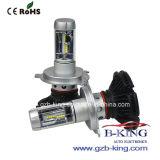 1 Jahr-Garantie Fanless 6000lm H4 Scheinwerfer des Auto-LED