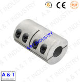 Accoppiamento rigido dell'asta cilindrica a due pezzi dell'acciaio inossidabile di alta qualità