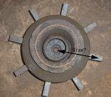 Pezzi di ricambio della rotella di scoppio - lamierine della macchina di granigliatura (Q111)