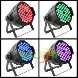 Het LEIDENE van de Prijs van de fabriek Lichte RGB Tri LEIDENE 3W*54PCS van de Disco Licht van het PARI met Radio DMX