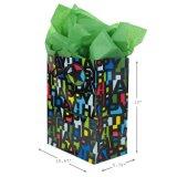Sacchetto del regalo di Brithday, sacchetti del regalo, sacco di carta del regalo, sacchetto della carta kraft, Borsa di carta