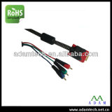 HD D-Sub 15 pin Cable VGA RGB de China de fábrica (ADCable)