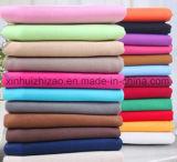 広い幅の灰色の綿織物