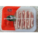 Supermarket Display를 위한 중국 Gold Supplier Factory Price Vacuum Forming Meat&Food Industry Use Frozen Food Tray Packaging