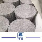 Barato G603 Pavimentação redonda de granito Natural/Espalhadoras pedras de Paisagismo