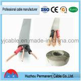 Alambre del cable eléctrico de BVVB/BVVB+E 300/500V