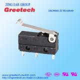 UL, ENEC одобренный переключатель 3A 125/250VAC загерметизированный 30VDC миниый микро-