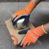Перчатки работы при покрынная ладонь латекса Sandy (LRS3035)