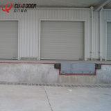 Дверь профессионального стандартного надземного секционного гаража нутряная с предохранением от перста