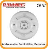 Enの承認の2ワイヤーアドレス指定可能な煙および熱の探知器(SNA-360-C2)